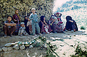 Iraq 1968 <br /> Kurdish women and children in a village<br /> Irak 1968 <br /> Femmes et enfants kurdes dans un village