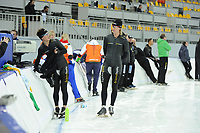 SPEEDSKATING: SOCHI: Adler Arena, 19-03-2013, Training, Jan Smeekens (NED), Ronald  Mulder (NED), © Martin de Jong