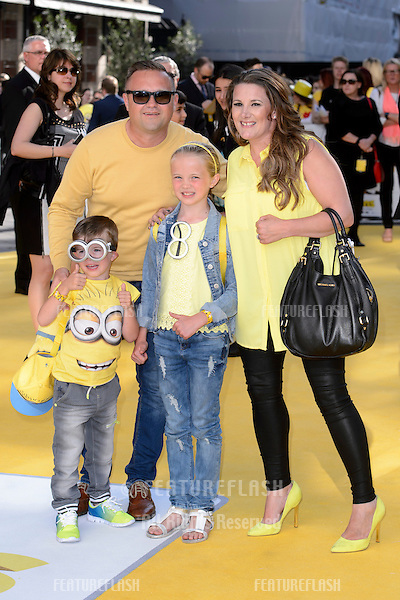 """Sam Bailey at the world premiere of """"Minions"""" at the Odeon, Leicester Square, London.<br /> June 11, 2015  London, UK<br /> Picture: Dave Norton / Featureflash"""