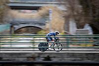 Gianni Vermeersch (BEL/Alpecin-Fenix)<br /> <br /> Final stage 7 (ITT) from San Benedetto del Tronto to San Benedetto del Tronto (10.1km)<br /> <br /> 56th Tirreno-Adriatico 2021 (2.UWT) <br /> <br /> ©kramon