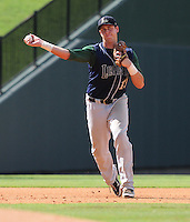 Infielder Matt Duffy (13) of the Lexington Legends, a Houston Astros affiliate, in a game against the Greenville Drive on July 22, 2012, at Fluor Field at the West End in Greenville, South Carolina. Lexington won, 13-7. (Tom Priddy/Four Seam Images)
