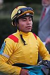 20 February 2009: Jockey Martin Garcia wins The Southwest at Oaklawn in Hot Springs, Arkansas