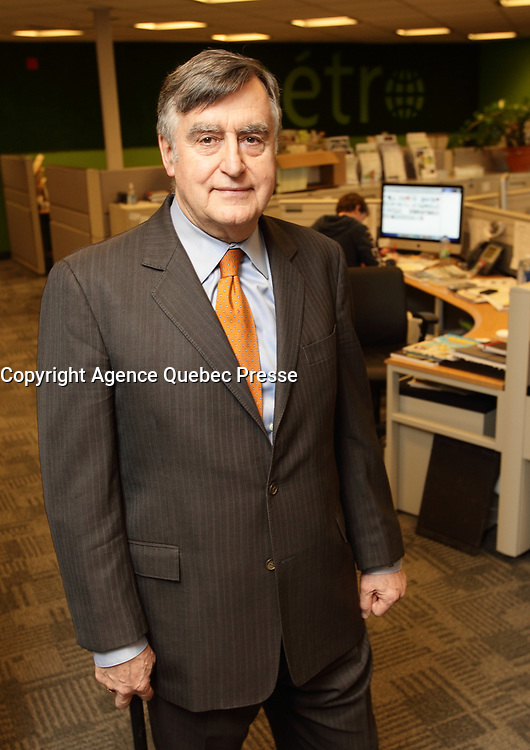 March 2013 File Photo - Lucien Bouchard