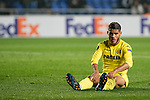 Jonathan Dos Santos of Villarreal CF  at the conclusion of Villarreal CF vs AS Roma, part of the UEFA Europa League 2016-17 Round of 32 at the Estadio de la Cerámica on 16 February 2017 in Villarreal, Spain. Photo by Maria Jose Segovia Carmona / Power Sport Images