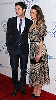 BEVERLY HILLS, CA, USA - APRIL 25: Darren Criss, Lea Michele at the Jonsson Cancer Center Foundation's 19th Annual 'Taste For A Cure' held at Regent Beverly Wilshire Hotel on April 25, 2014 in Beverly Hills, California, United States. (Photo by Xavier Collin/Celebrity Monitor)