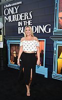"""NEW YORK CITY - AUG 24: Leah Kelley attends the screening of Hulu's """"Only Murders in the Building"""" at The Greens at Pier 17 on August 24, 2021 in New York City. (Photo by Frank Micelotta/Hulu/PictureGroup)"""