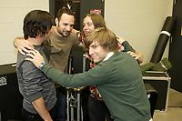 Le groupe quebecois Les Trois Accords<br /> <br /> <br /> Photo : Agence Quebec Presse