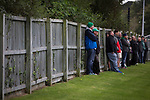 Guernsey 0 Corinthian-Casuals 1, 10/09/2017. Footes Lane, Isthmian League Division One. Fans watching the first-half action as Guernsey take on Corinthian-Casuals in a Isthmian League Division One South match at Footes Lane. Formed in 2011, Guernsey FC are a community club located in St. Peter Port on the island of Guernsey and were promoted to the Isthmian League Division One South in 2013. The visitors from Kingston upon Thames won the fixture by 1-0, watched by a crowd of 614 spectators. Photo by Colin McPherson.