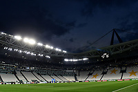 A general view of the empty stadium prior to the Serie A football match between Juventus FC and US Lecce at Juventus stadium in Turin  ( Italy ), June 26th, 2020. Play resumes behind closed doors following the outbreak of the coronavirus disease. Photo Andrea Staccioli / Insidefoto