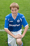 St Johnstone FC Academy Under 14's<br /> Rory Hutchison<br /> Picture by Graeme Hart.<br /> Copyright Perthshire Picture Agency<br /> Tel: 01738 623350  Mobile: 07990 594431