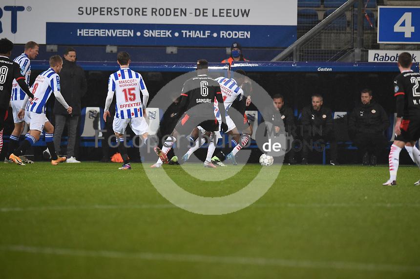 VOETBAL: HEERENVEEN: Abe Lenstra Stadion, 08-11-2020, SC Heerenveen - PSV, uitslag 2-2, ©foto Martin de Jong