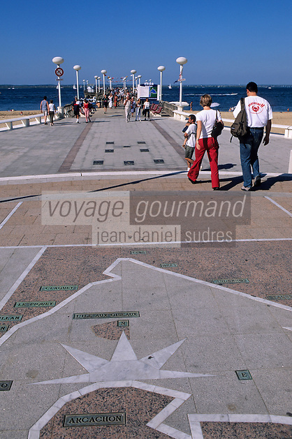 Europe/France/Aquitaine/33/Gironde/Bassin d'Arcachon/Arcachon: La jetée Thiers