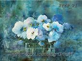 Franco, FLOWERS, BLUMEN, FLORES, paintings+++++,ITZP21,#f#, EVERYDAY