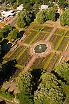 Aerial View of the Peninsula Park, Portland, Oregon