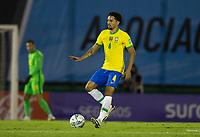 17th November 2020; Centenario Stadium, Montevideo, Uruguay; Fifa World Cup 2022 Qualifying football; Uruguay versus Brazil;  Marquinhos of Brazil