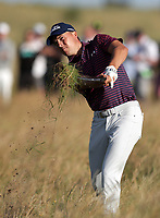 17th July 2021; Royal St Georges Golf Club, Sandwich, Kent, England; The Open Championship Golf, Day Three; Jordan Speith (USA) plays from deep rough on the 12th hole