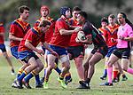 Francis Douglas Memorial College v Papakura High School. Secondary Schools Rugby League Nationals, Bruce Pulman Park, Papakura, Auckland, New Zealand. Monday 4 September. Photo: Simon Watts/www.bwmedia.co.nz