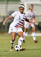 Lakewood Ranch, FL - Wednesday, October 10, 2018:   Mia Fishel during a U-17 USWNT match against Colombia.  The U-17 USWNT defeated Colombia 4-1.