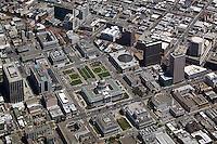 aerial photograph City Hall Civic Center San Francisco, California