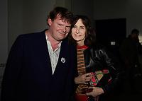 Frederic BONNAUD, Valerie LEMERCIER - Vernissage de l'exposition Goscinny - La Cinematheque francaise 02 octobre 2017 - Paris - France