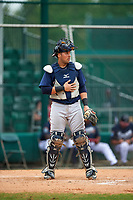 Atlanta Braves Wigberto Nevarez (91) during an intrasquad Spring Training game on March 29, 2016 at ESPN Wide World of Sports Complex in Orlando, Florida.  (Mike Janes/Four Seam Images)