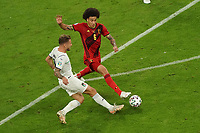 2nd July 2021; Allianz Arena, Munich, Germany; European Football Championships, Euro 2020 quarterfinals, Belgium versus Italy;  Ciro Immobile Italy and Axel Witsel Belgium