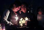 Sparks Middle School Candlelight Vigil 102313