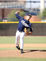 Mat Latos / San Diego Padres 2008 Instructional League..Photo by:  Bill Mitchell/Four Seam Images