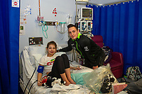 Pictured: Connor Roberts of Swansea City at Morriston Hospital, Swansea, Wales, UK. Thursday 19 December 2019