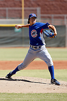 Dae-Eun Rhee - Chicago Cubs 2009 Instructional League .Photo by:  Bill Mitchell/Four Seam Images..