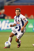 Pachuca CF midfielder Christian Gimenez (19). The New England Revolution defeated Pachuca CF 1-0 during a Group B match of the 2008 North American SuperLiga at Gillette Stadium in Foxborough, Massachusetts, on July 16, 2008.