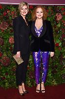 Marianne Elliott and Miranda Cromwell<br /> arriving for the Evening Standard Theatre Awards 2019, London.<br /> <br /> ©Ash Knotek  D3539 24/11/2019
