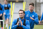 St Johnstone Training…16.05.17<br />Chris Kane pictured during training this morning ahead of tomorrows game against Hearts.<br />Picture by Graeme Hart.<br />Copyright Perthshire Picture Agency<br />Tel: 01738 623350  Mobile: 07990 594431