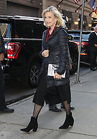 NEW YORK, NY- October 11: Diane Sawyer at Good Morning America to talk about her interview with Julie Andrews on October 11, 2019 in New York City. Credit: RW/MediaPunch