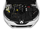 Car Stock 2020 Renault Megane-Estate Intens 5 Door wagon Engine  high angle detail view