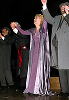 NEW YORK, NY- FEBRUARY 12: Olympia Dukakis and cast during the opening curtain call for Agamemnon, held at John Jay College, on February 12, 2004, in New York City. Credit: Joseph Marzullo/MediaPunch
