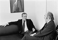 Jacques hebert,janvier 1972<br /> <br /> <br /> PHOTO : Agence Quebec Presse -  Alain Renaud