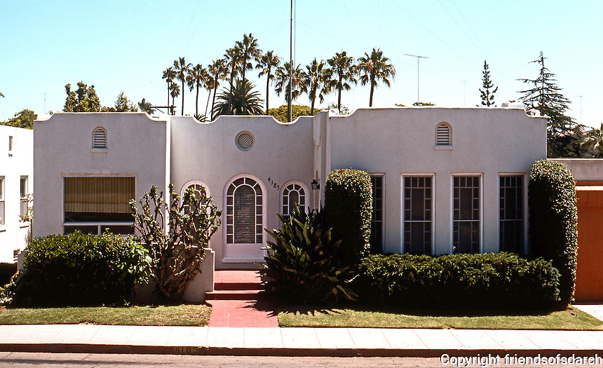 San Diego: Span. Colonial Revival, 1920's. Mission Hills. (Photo '78)