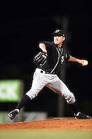 Omaha Storm Chasers pitcher Justin Marks (37) delivers a pitch during a game against the Nashville Sounds on May 19, 2014 at Herschel Greer Stadium in Nashville, Tennessee.  Nashville defeated Omaha 5-4.  (Mike Janes/Four Seam Images)
