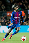 Ousmane Dembele of FC Barcelona in action during the Copa Del Rey 2017-18 Round of 16 (2nd leg) match between FC Barcelona and RC Celta de Vigo at Camp Nou on 11 January 2018 in Barcelona, Spain. Photo by Vicens Gimenez / Power Sport Images