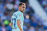 Javier Eraso Goni of CD Leganes reacts during the La Liga 2017-18 match between CD Leganes vs FC Barcelona at Estadio Municipal Butarque on November 18 2017 in Leganes, Spain. Photo by Diego Gonzalez / Power Sport Images