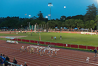 STANFORD, CA - April 3, 2015: Stanford hosts the Stanford Invitational Track Meet at Stanford University in Stanford, California.