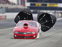 Feb 11, 2017; Pomona, CA, USA; NHRA top sportsman driver Gary Forkner during the Winternationals at Auto Club Raceway at Pomona. Mandatory Credit: Mark J. Rebilas-USA TODAY Sports