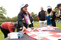 STANFORD, CA - APRIL 25: Alyaa Abdulghany at Stanford Golf Course on April 25, 2021 in Stanford, California.