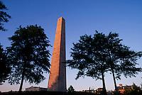 Bunker Hill monument, Charlestown, MA