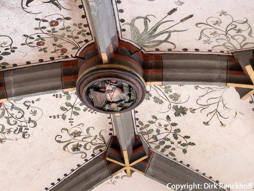 Decken des Festraumes, Kloster zum heiligen Georg, Stein am Rhein, Kanton Schaffhausen, Schweiz<br /> ceiling, Saint George's Abbey in Stein am Rhein, Canton Schaffhausen, Switzerland
