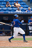 April 25 2010: Richard Lucas (28) of the St. Lucie Mets during a game vs. the Bradenton Marauders at Digital Domain Park in Port St. Lucie, Florida. St. Lucie, the Florida State League High-A affiliate of the New York Mets, won the game against Bradenton, affiliate of the Pittsburgh Pirates, by the score of 5-4  Photo By Scott Jontes/Four Seam Images