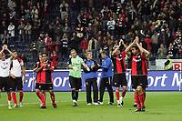 Team von Eintracht Frankfurt bedankt sich bei den Fans
