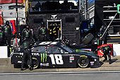 #18: Riley Herbst, Joe Gibbs Racing, Toyota Supra Monster Energy
