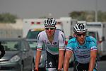 Irish Champion Matt Brammeier Omega Pharma-Quick Step before the start of the 1st Stage of the 2012 Tour of Qatar running from Umm Slal Mohammed to Doha Golf Club, Doha, Qatar, 5th February 2012 (Photo Eoin Clarke/Newsfile)
